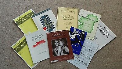 Schirmers library Twenty Four Italian songs and Arias plus 9 more items
