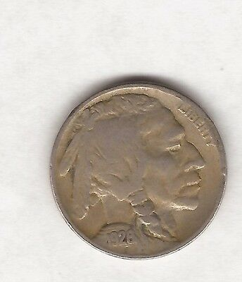 1926 Usa Five Cent Coin