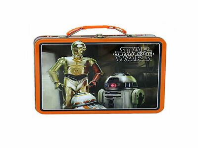 Star Wars - The Force Awakens Large Carry All Tin (SW002) / Lunch Box - Brand Ne