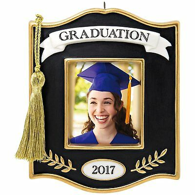 Hallmark Keepsake Graduation 2017 Photo Holder Ornament. Free Shipping