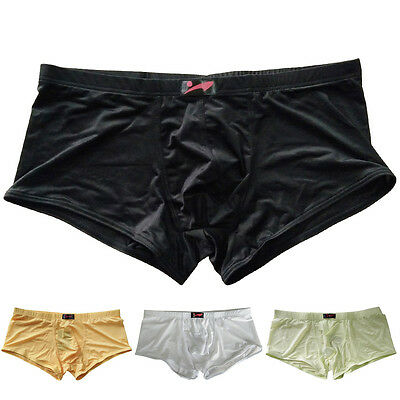Hot&Sexy Mens Trunks Underwear Boxer Briefs Shorts Casual Bulge Pouch Underpants