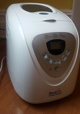 Morphy Richards FastBake 48280 Bread Machine With Instructions
