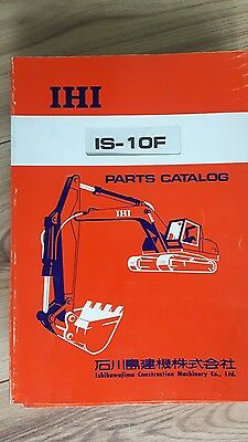 ihi is of diģger parts catalogue