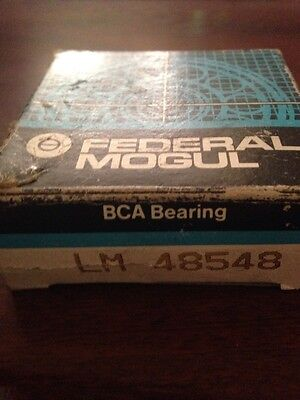 Federal Mogul Bower BCA Tapered Roller Bearing LM48548