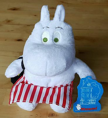 """Moomin 8"""" Soft Toy - Moominmamma (With Green Eyes)"""