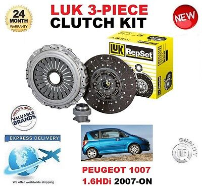Clutch Kit 3pc Cover+Plate+Releaser HK7791 Borg /& Beck 2050J5 2050N3 2050R8