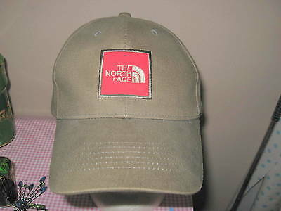 THE NORTH FACE Brown/Kahki Cap Hat  Adjustable & Vented