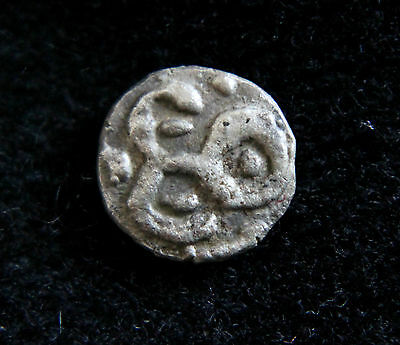 Merovingian Silver indeterminate MINT Coin  Early 800 AD