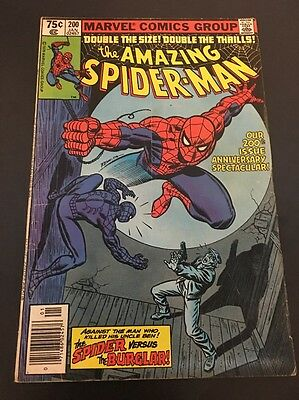 The Amazing Spider-Man  #200 Vol 1  Cents Issue Marvel Comics