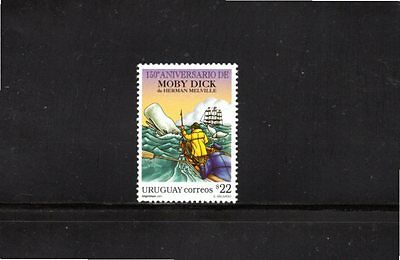 2001 Uruguay 150th Anniversary of book Moby Dick SG 2687 MUH