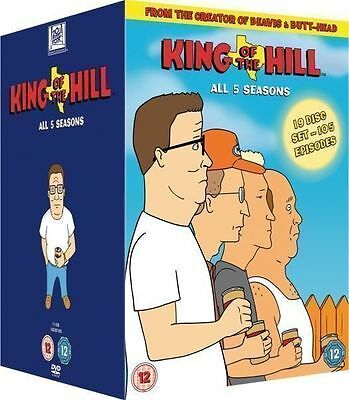 King Of The Hill Series 1-5 Complete Dvd Box Set New R2 Seasons 1 2 3 4 5