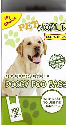 Premium Biodegradable Thick scented Dog Poop Bags Poo Bag