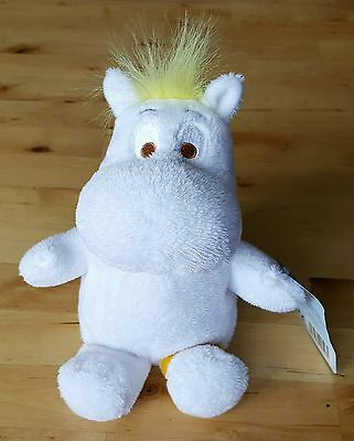 """Moomin 8"""" Soft Toy - Snorkmaiden (With Brown Eyes)"""