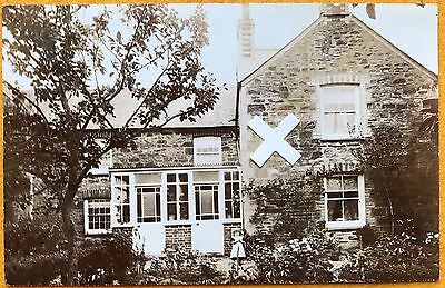 Govier Rp Postcard. House In Chacewater Area, Cornwall.