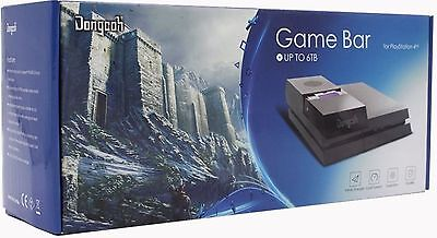 DongCoh Game Bar for PlayStation 4, 6tb HDD included