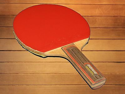 Table Tennis paddle bat Donic Appelgren blade with rubber ALL OFF
