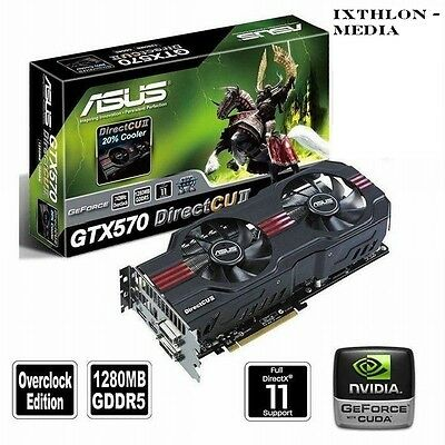 ASUS NVIDIA GeForce GTX 570 (1280 MB) DirectX 11 - GRAFIKKARTE - GRAPHIC CARD 2