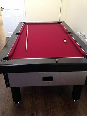 7 By 4 Excel Pool Table