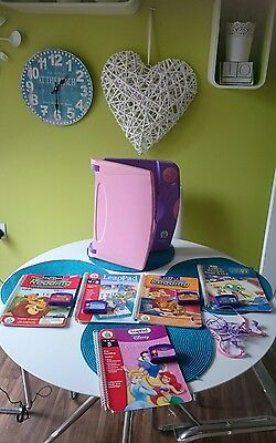 Leapfrog Leappad Learning System With Books And Cartridges