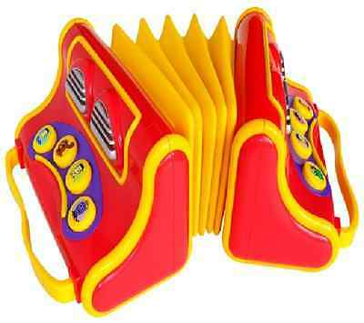 The Wiggles Play Along Accordion Plays 8 songs - Toy Musical Instrument RETIRED!