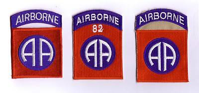 WWII - 82nd AB DIVISION (Set de 3 - Reproductions)