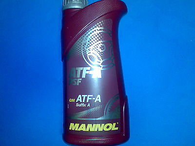 1L MANNOL ATF-A Suffix Power Steering Fluid PSF  DEXRON ATF Type B ATF Type D
