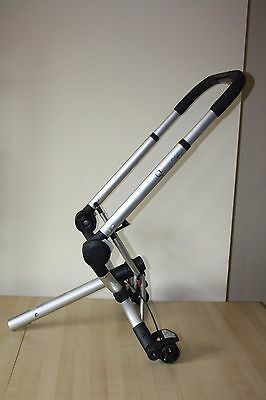 "Quinny Buzz pram and pushchair "" chassis - frame "" - silver"