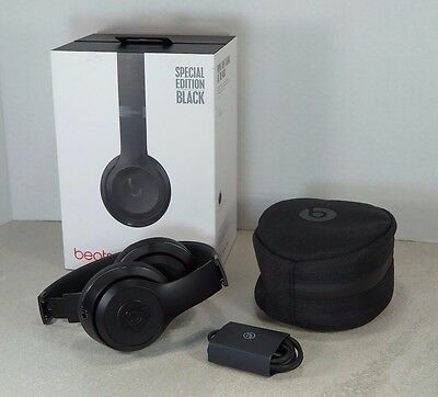 Apple MP582LL/A Beats by Dr. Dre Solo3 On-Ear Bluetooth Headphones