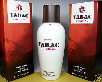 Tabac  After Shave Lotion XXL Flakon  2er Pack 2 x 300 ml  (EUR 8,75 / 100 ml)