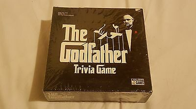 THE GODFATHER TRIVIA GAME FOR 2 OR MORE PLAYERS New sealed