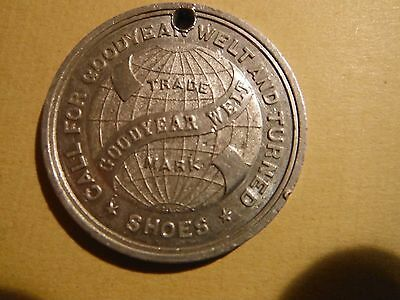 1892 Pittsburgh Exposition Good Year Shoe Token
