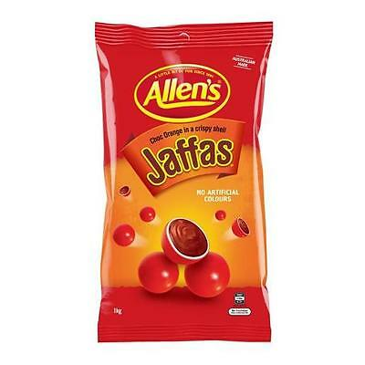 Allens Jaffas 1kg Chocolate Orange Buffet Candy Sweets Treats Favours