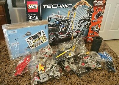 """New """"LEGO TECHNIC"""" 9397 Logging Truck 2 in 1 with Power Functions"""