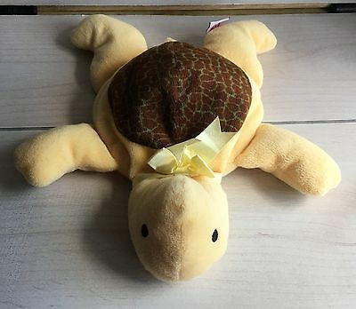 A23 Rare Ty Pillow Pals Brown Shell Snap Turtle Plush! 12 Inch Lovey Stuffed