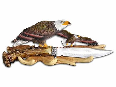 Decorative Eagle Knife (18cm) with Display Stand - Brand New