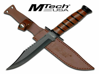 Marines Honcho WWII Knife (30.5cm) with Leather Sheath - Brand New