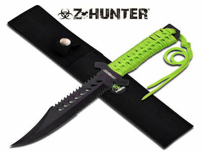 Z-Hunter Fixed Blade Knife (29cm) with Nylon Sheath - Brand New