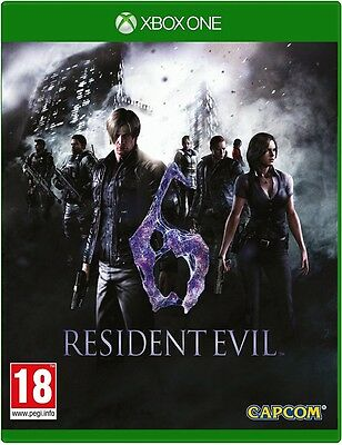 Resident Evil 6 HD Remake (Xbox One) (UK IMPORT) neuf sous blister