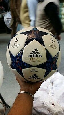 100% Original Adidas Final Cardiff 2017 Championship Official Soccer/match Ball