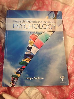 Research Methods And Statistics In Psychology Sixth Edition Hugh Coolican