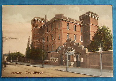 FRITH Postcard c.1905 THE BARRACKS READING BERKSHIRE