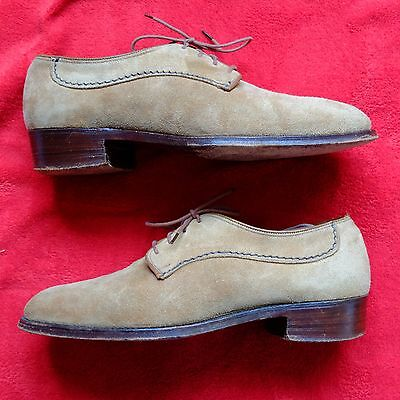 Loake 'Truro' Suede Shoes. Size 7 (UK)