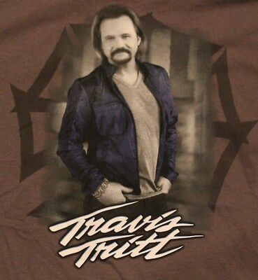 Vintage Travis Tritt Country Music Concert T Shirt Tee Tshirt Adult Xxl New