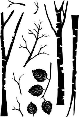 *NEW* CARD-IO (Collection) Clear Stamps 'TALL TREES'