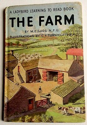Ladybird Book THE FARM  Learning to Read  Series 563 24p