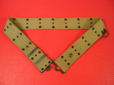 WWI US Army AEF M1912 Cavalry Pistol Belt w/Saber Ring - Marked: P.B.& Co. 1918