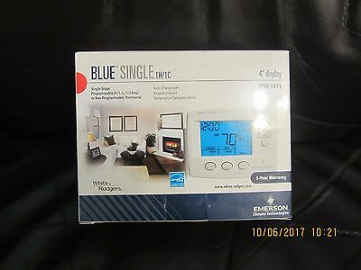WHITE RODGERS EMERSON 1F80-0471 80-Series Single-Stage Programmable Thermostat