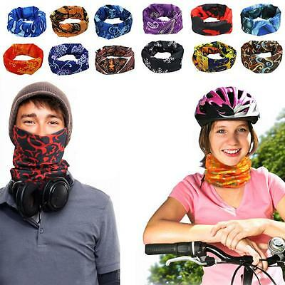 Sports Warmer Running Snood Bandana Neck Face Mask Scarf