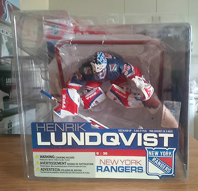Henrik Lundquist Mcfarlane Hockey NHL 13 NY Rangers  Action Figure