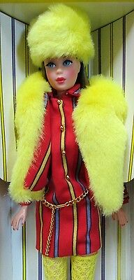 Nib~1967 Doll+Fashion Repro~T`n T~Brunette Barbie~Smasheroo~#1 Collector Request
